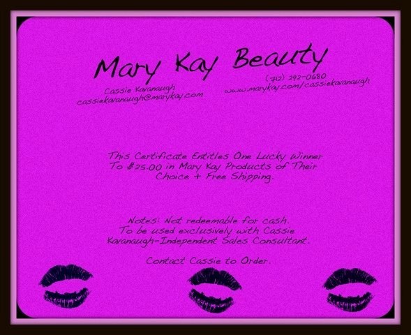 Mary Kay Gift Certificate Search Results
