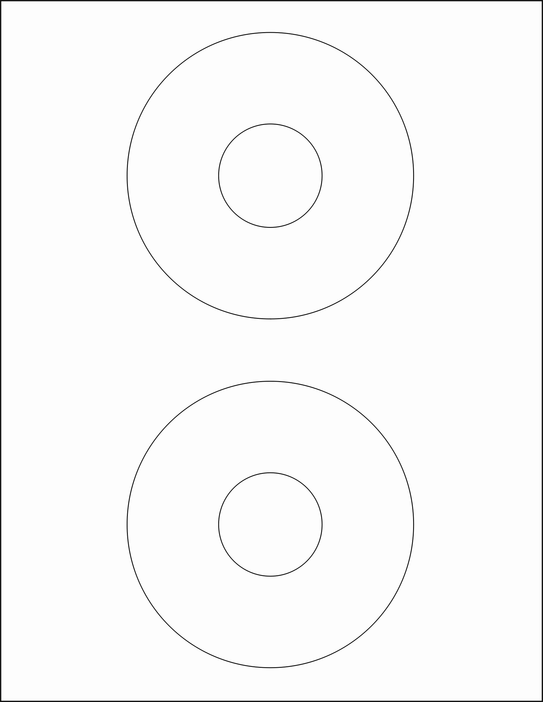 Memorex Cd Labels Template
