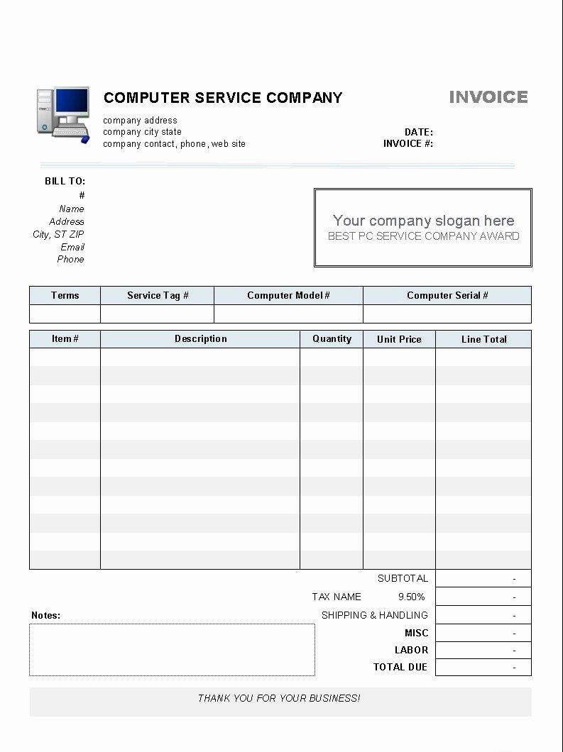 Microsoft Word 2010 Invoice Invoice Design Inspiration