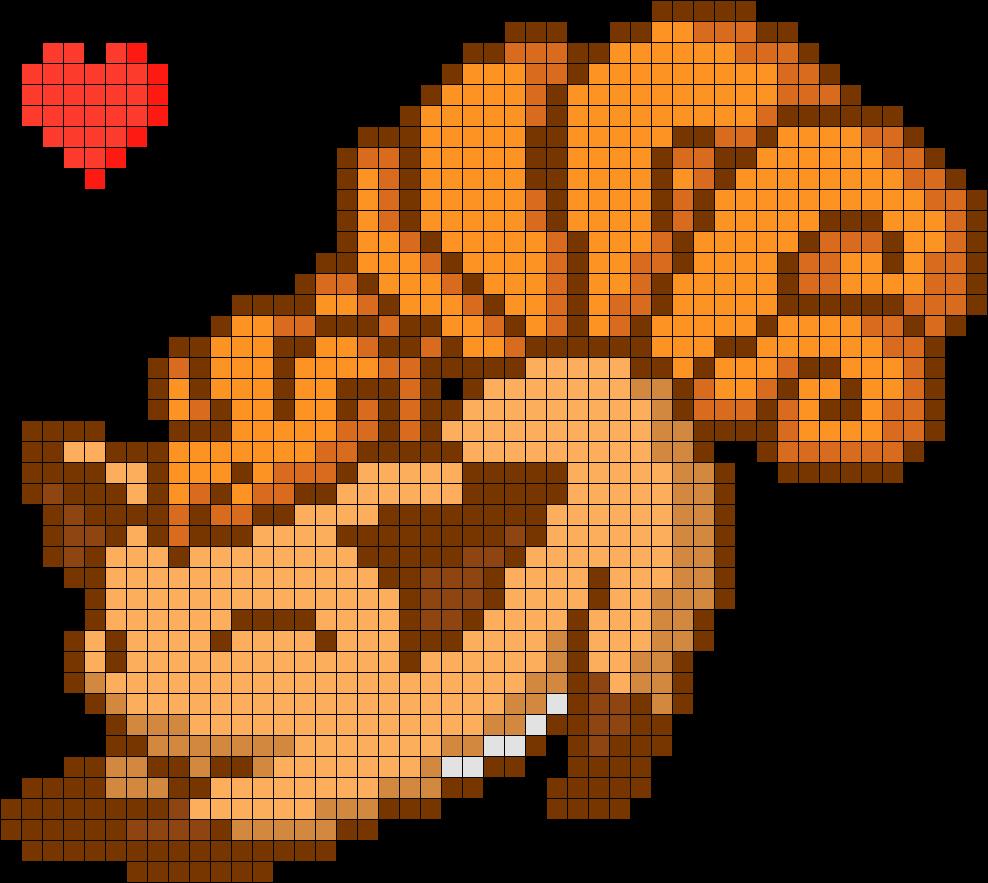 Minecraft Pixel Art Templates Link Zelda – Latter Example