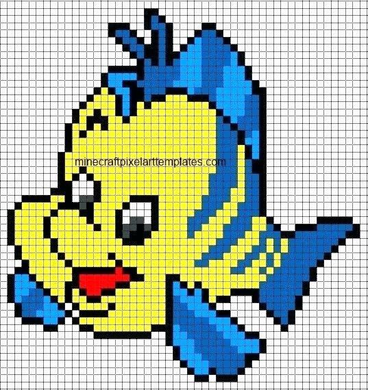 Minecraft Pixel Art Template Maker Line Drawn Hard 4