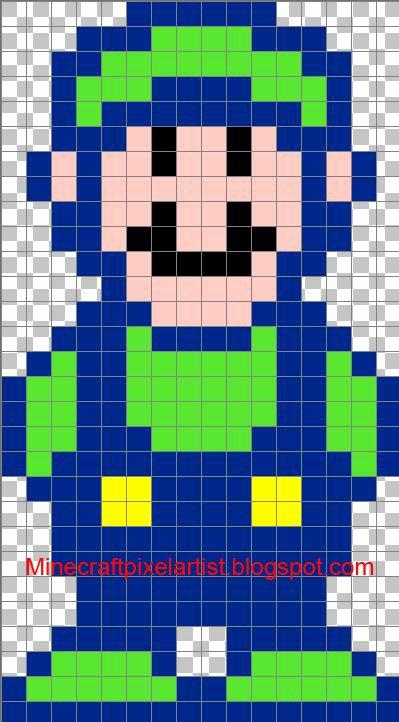 Minecraft Pixel Art Templates and Tutorials