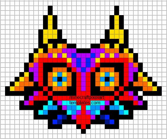 Minecraft Pixel Art Templates November 2012