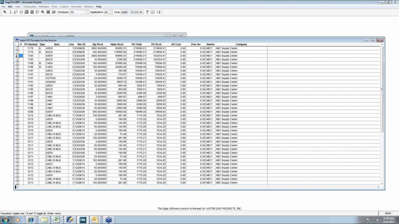 Month End Closing Procedures In Sage Pro Erp Accounting