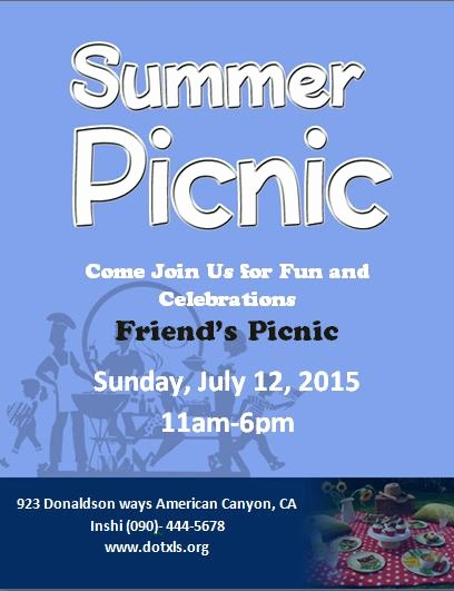 Ms Word Picnic Flyer Template