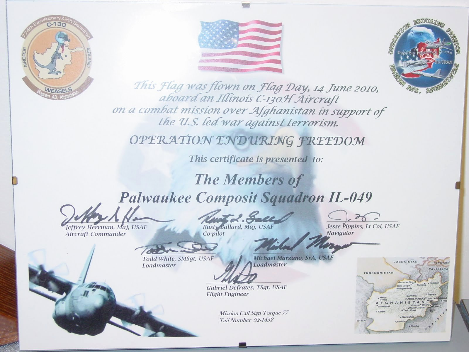Navy Certificate Templates