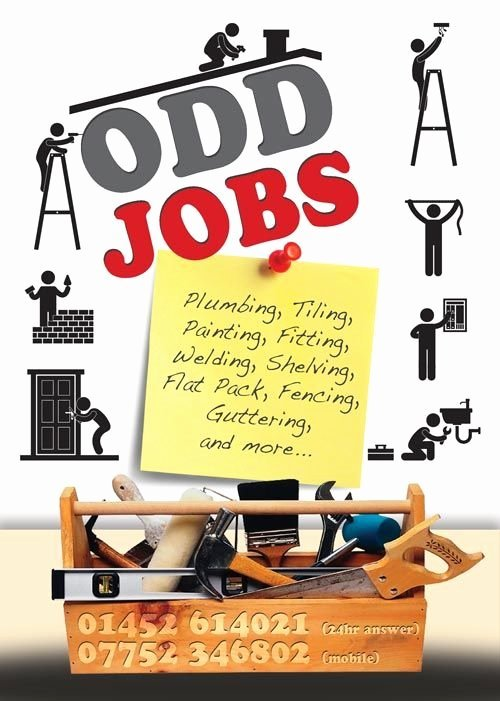 Odd Jobs Flyer Handy Work