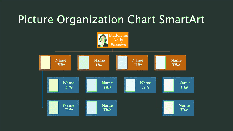 Organization Chart In Excel 2010 Two Free Blank
