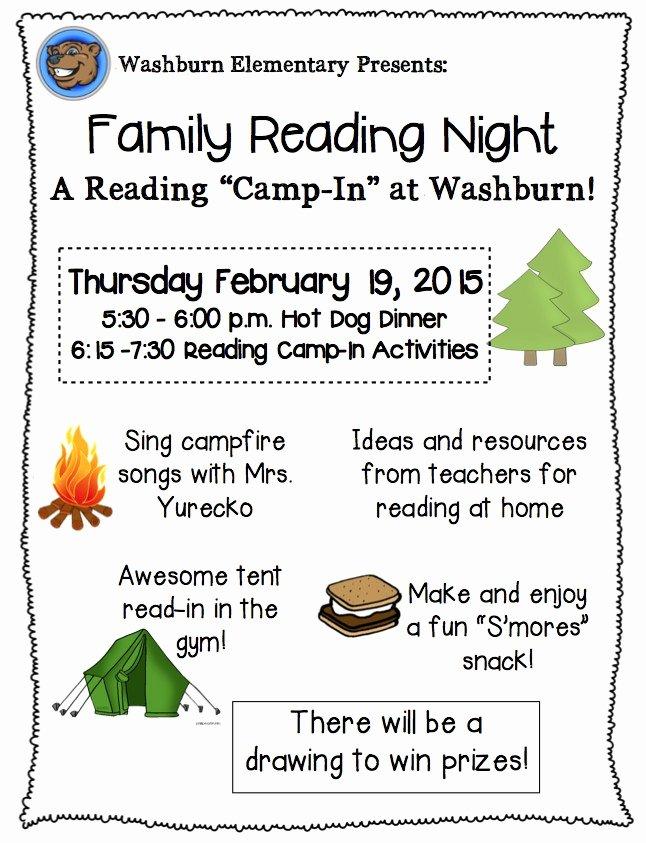 Parent Night Flyer Template