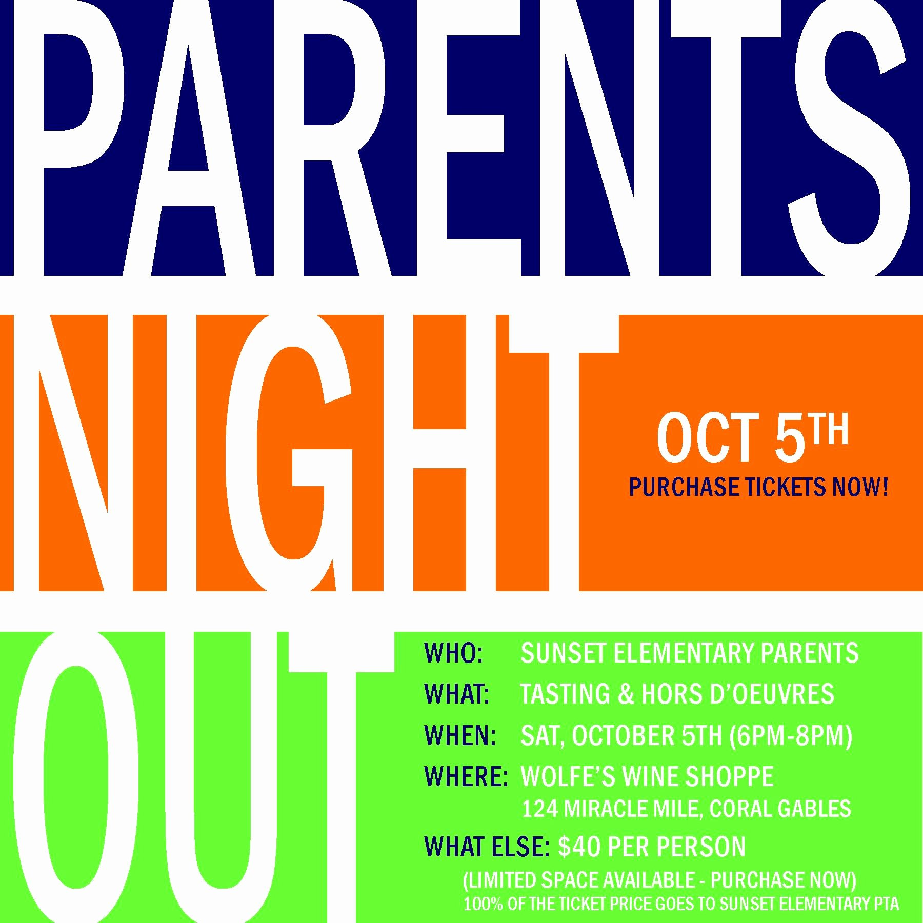 Parents Night Out Clipart