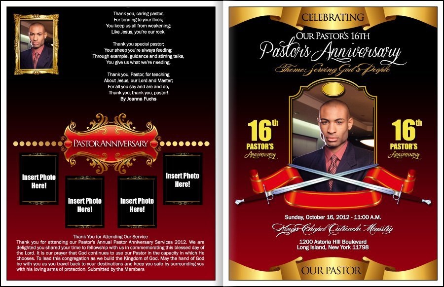 Pastor Anniversary Pastor Anniversary Celebration