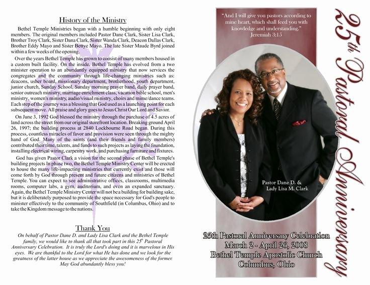 Pastor Anniversary Program Google Search