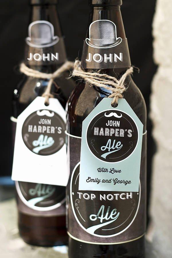 Personalised Printable Beer Labels by Papergravy