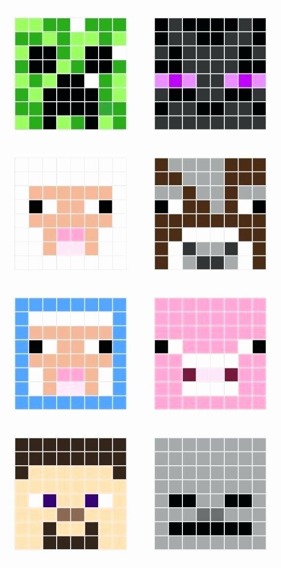 Pixel Art Ideas Templates Creations Easy Anime Game Gird