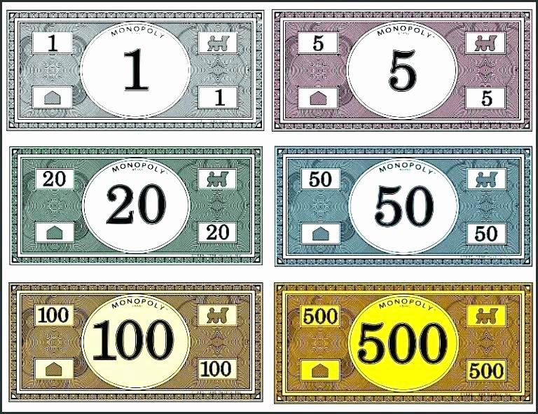 Play Money Template 100 – Onerectifo