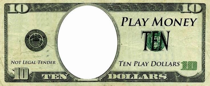 Play Money Template Play Money Templates