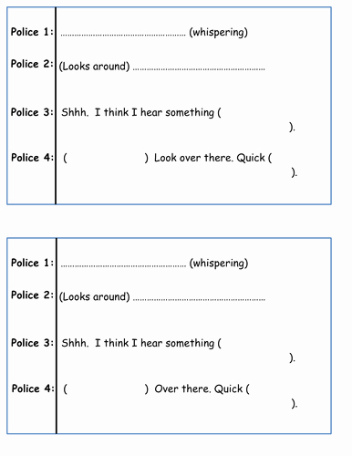 Play Script Writing by Philsha Teaching Resources Tes