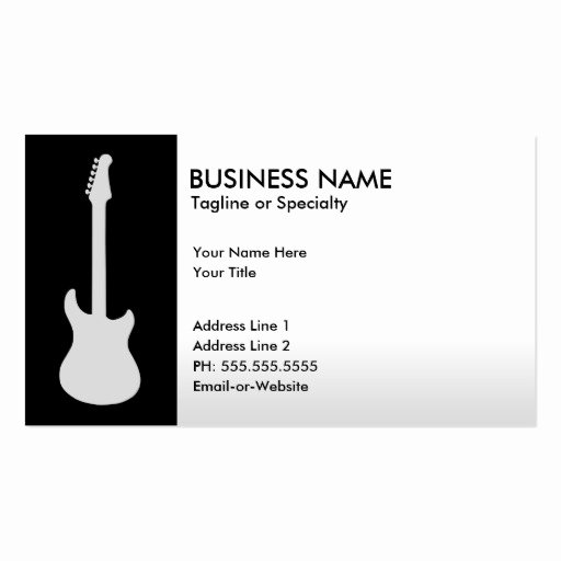 Premium Music Business Card Templates Page10