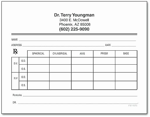 Prescription Pad Template – Voipersracing