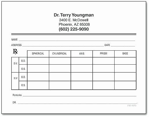Prescription Pad Template – Voipersracing