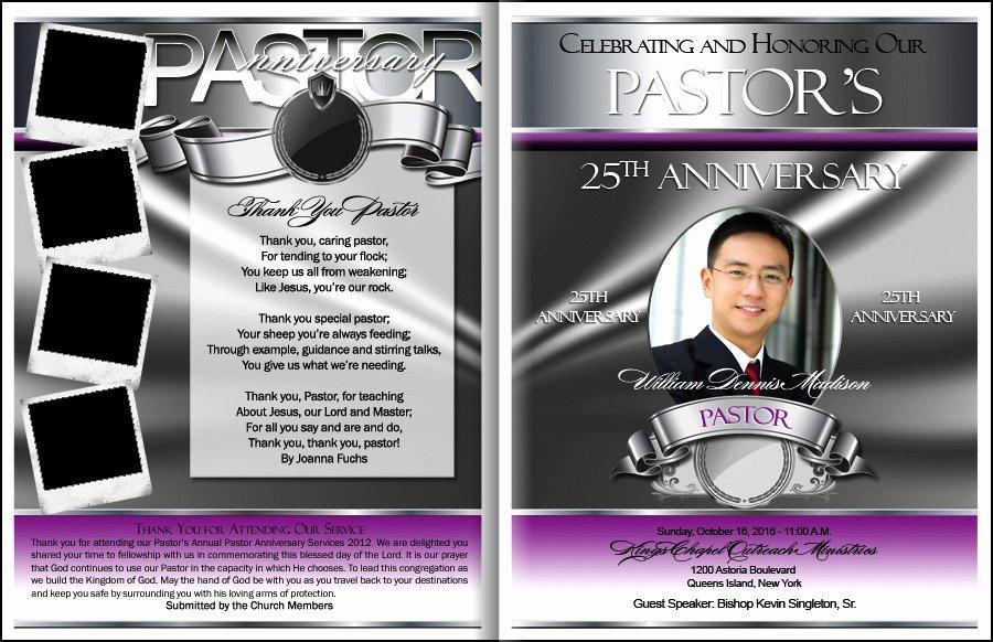 Prestigious Pastor Anniversary Program