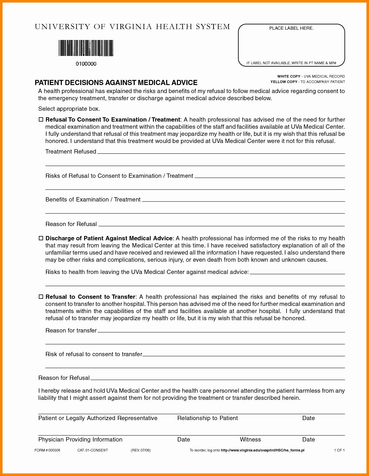 Printable Fake Hospital Discharge Paperswritings and