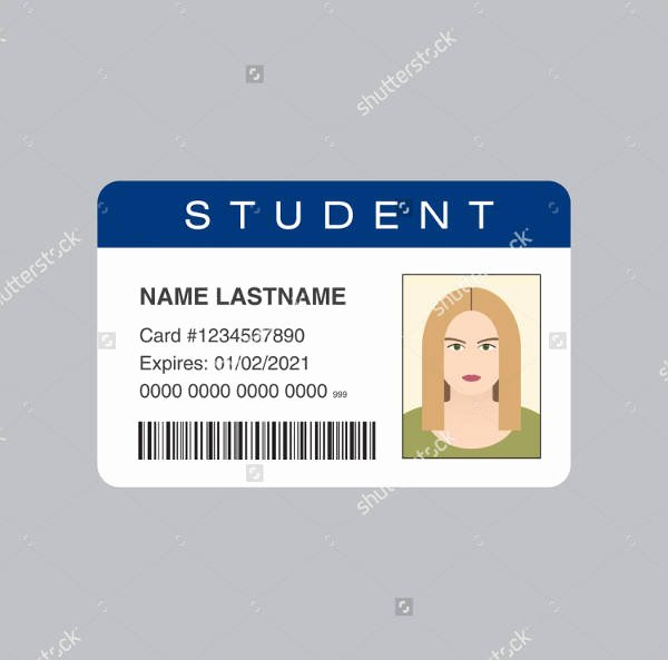 Printable Id Card Template Templates Station