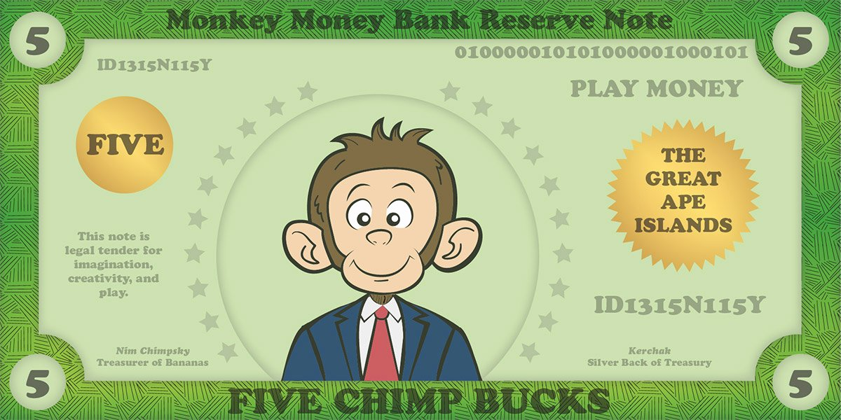 Printable Play Money for Kids & Play Money Template