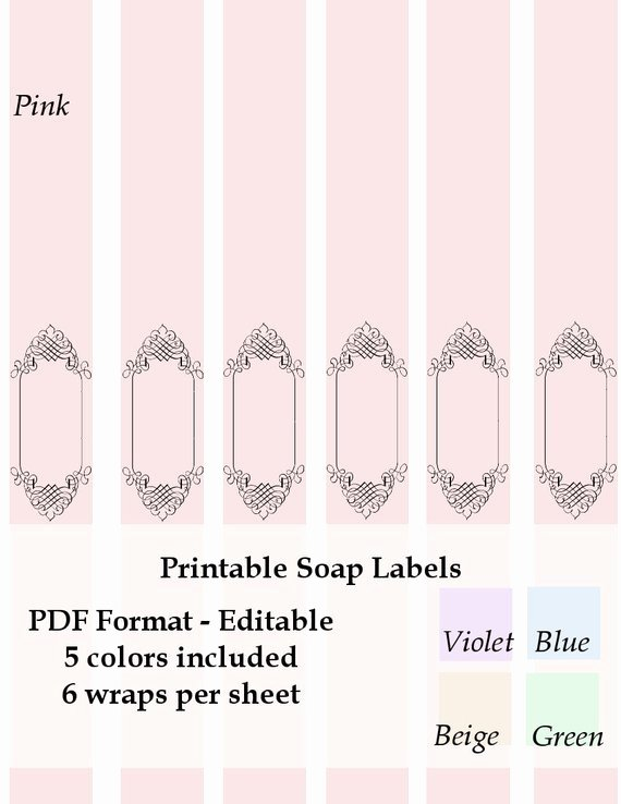 Laundry soap Labels Yumuniverse – Latter Example Template