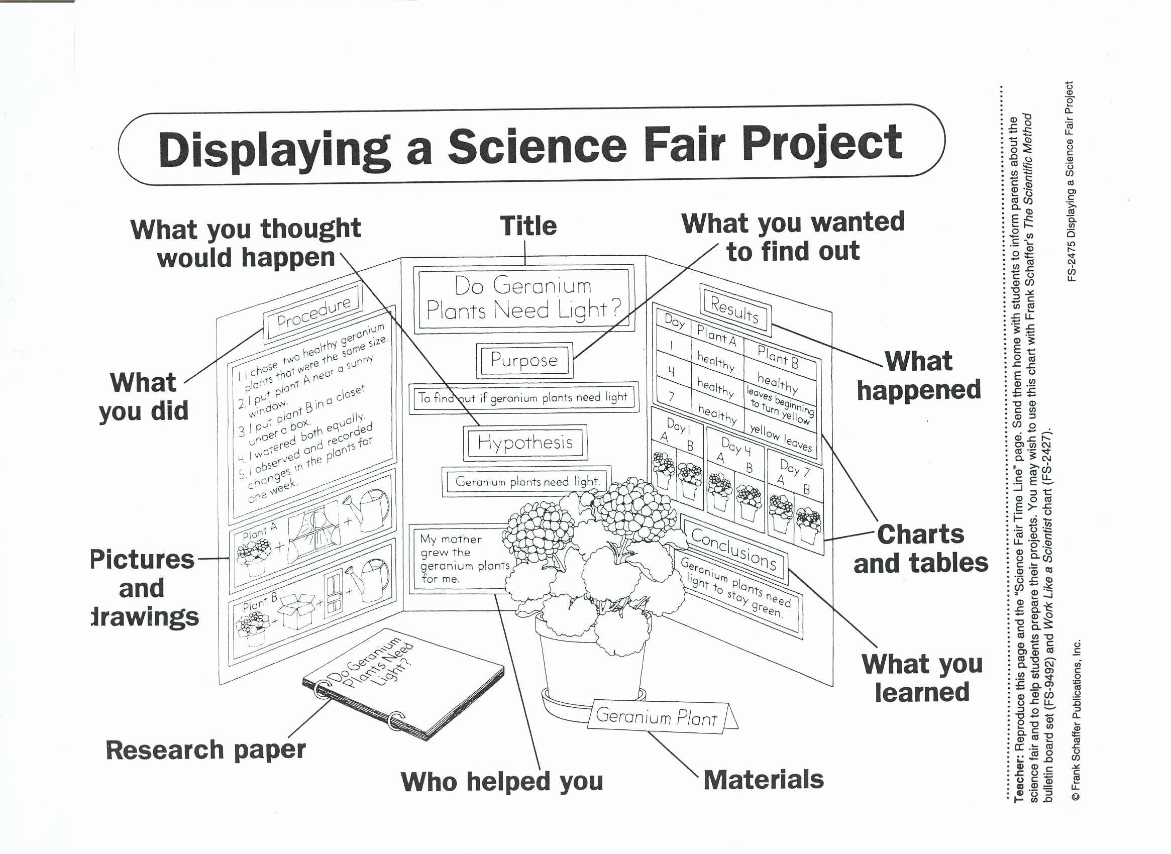 Project Science Fair Project Template
