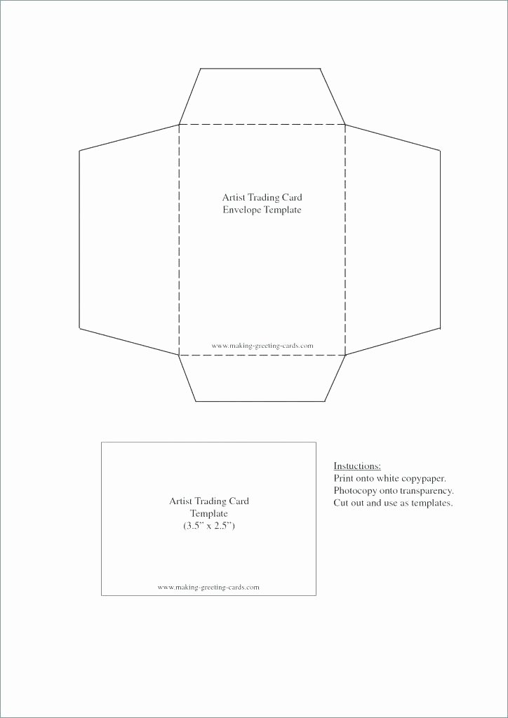 Quarter Fold Card Template Word