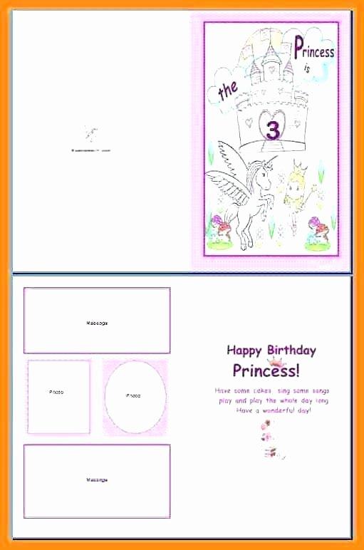 Quarter Fold Cards Template Beautiful Open Fice Birthday