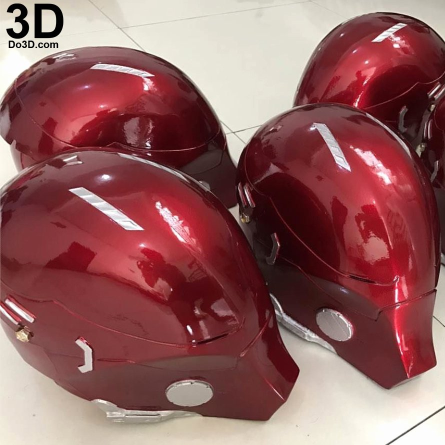 Red Hood Arkham Knight Helmet Template