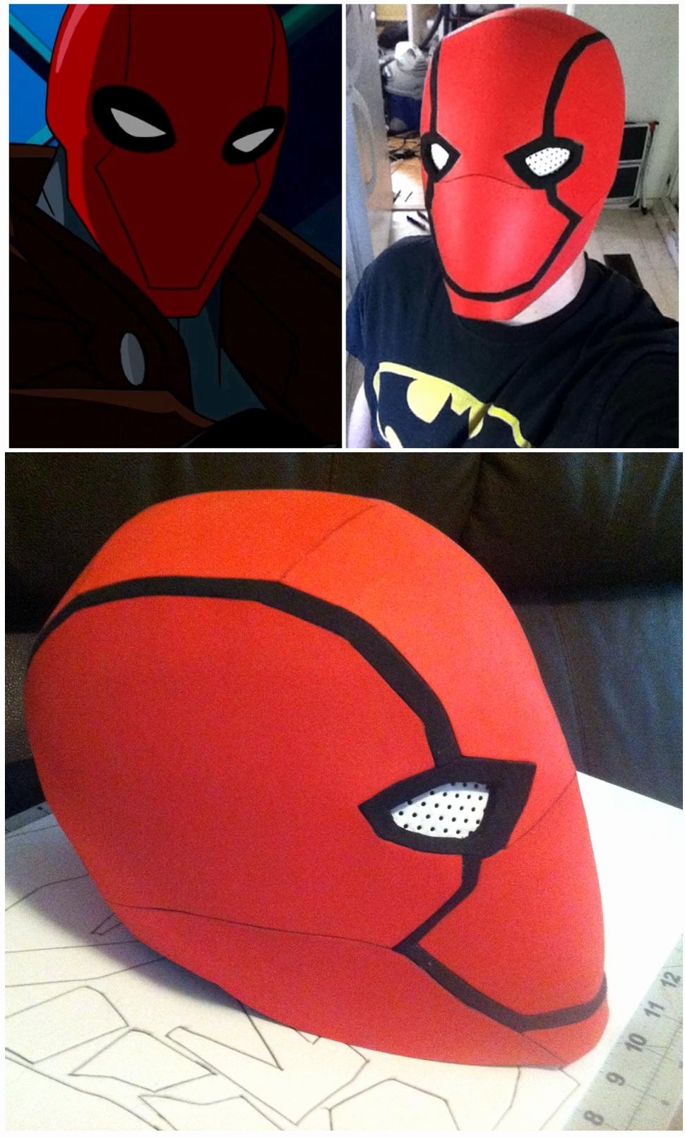 Red Hood Helmet by N8s On Deviantart