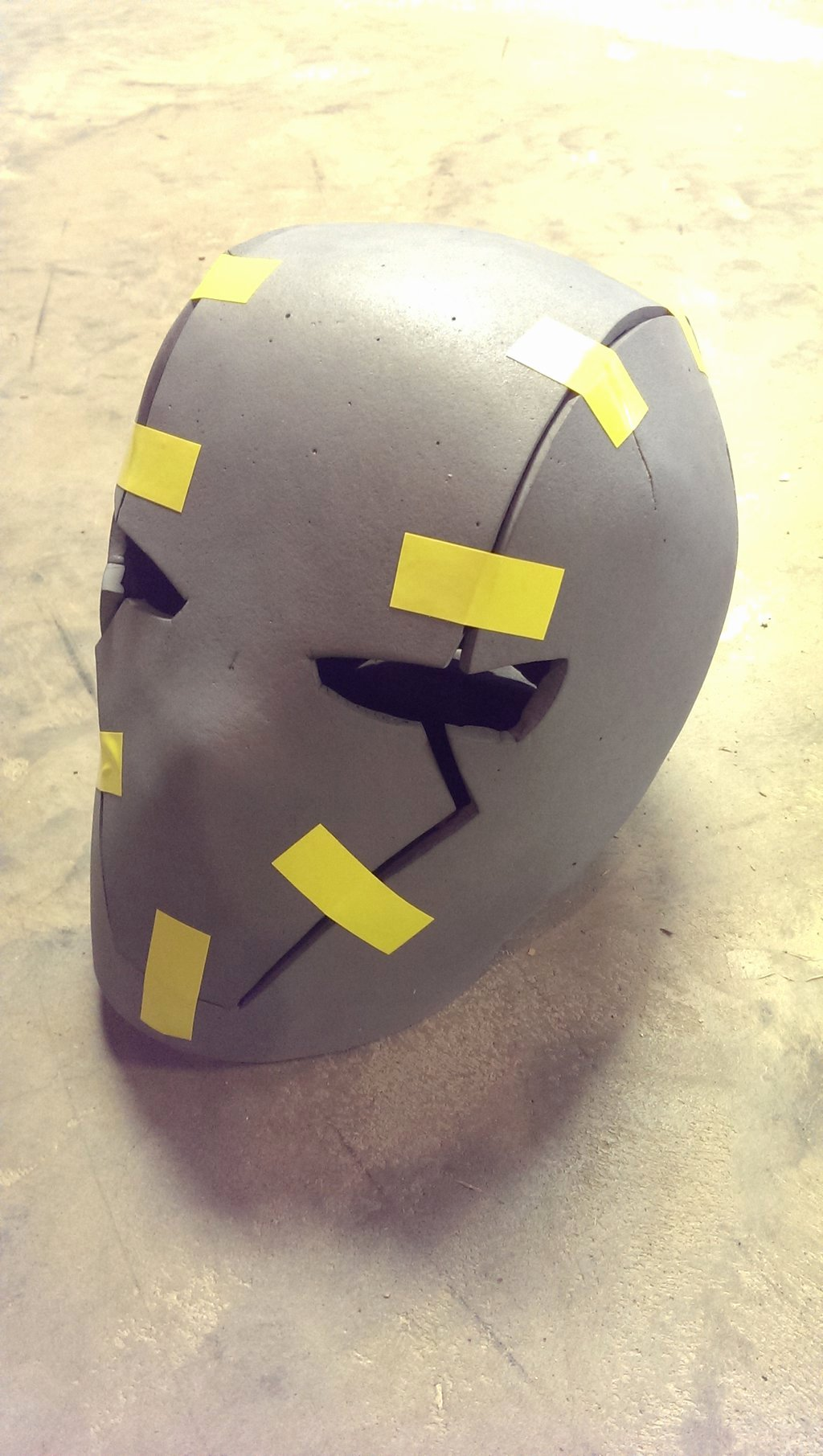 Red Hood Helmet Wip by Memrgrunt On Deviantart