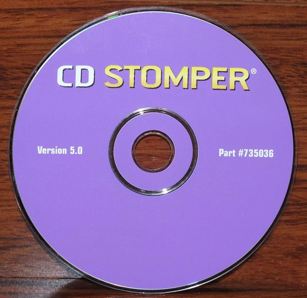 Replacement Cd Stomper Version 5 0 for Cd & Dvd Labeling