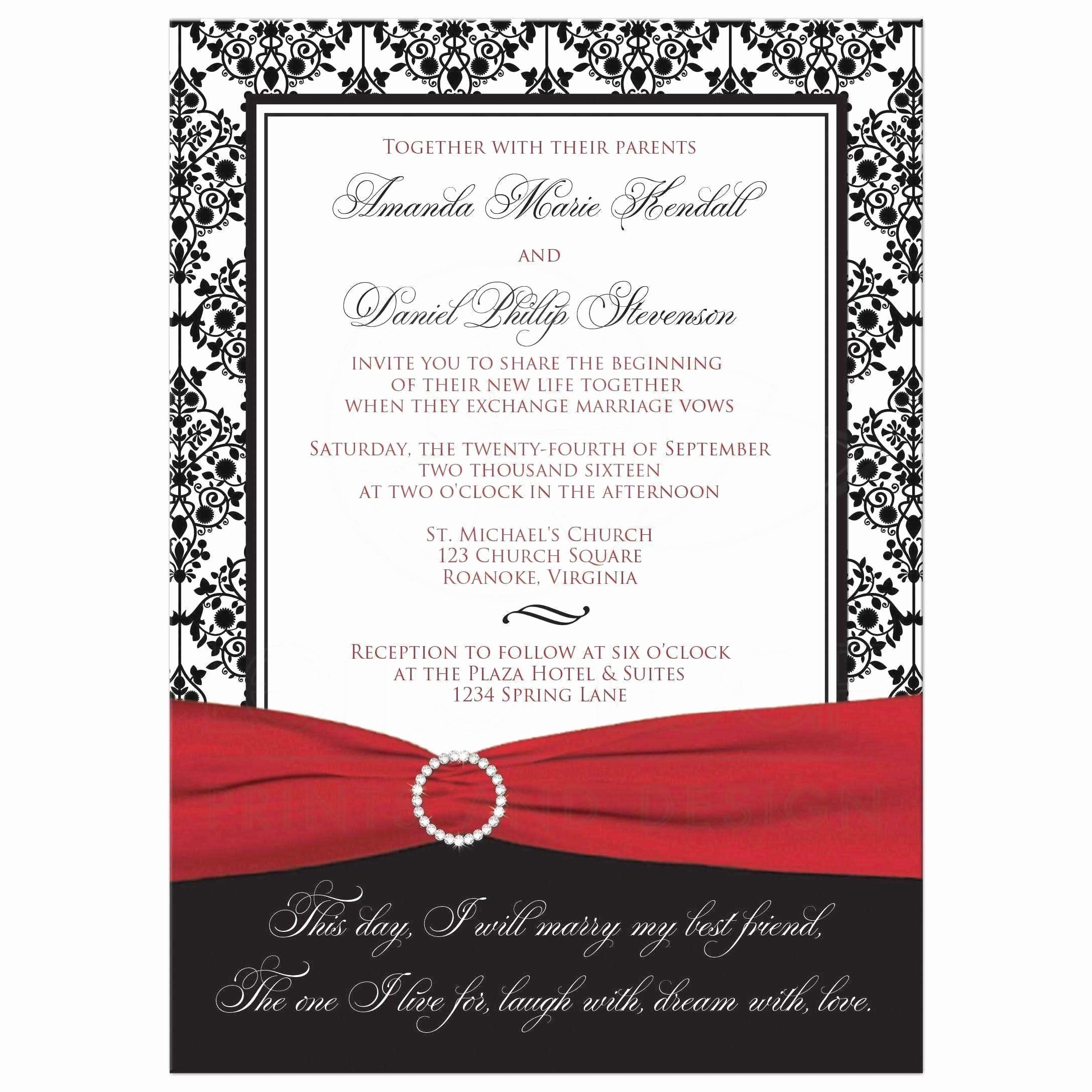 Romantic Hobby Lobby Wedding Invitations Templates with