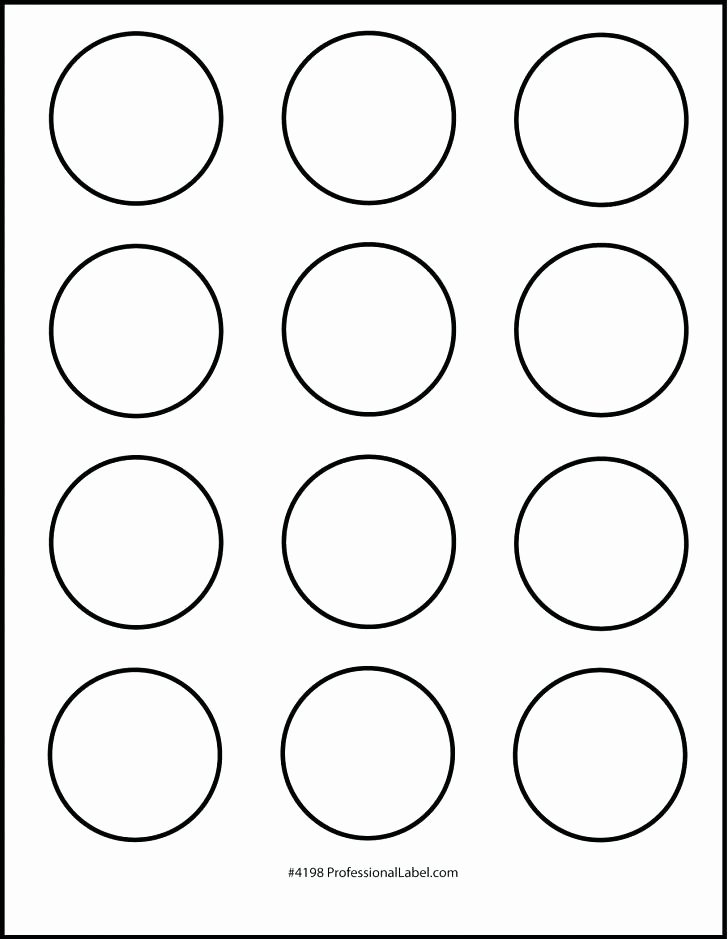 Round Label Template – Meetwithlisafo