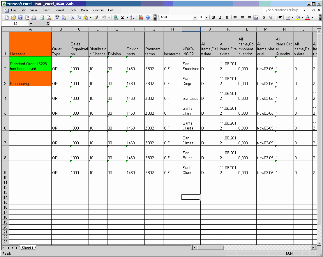 Running Excel Scripts