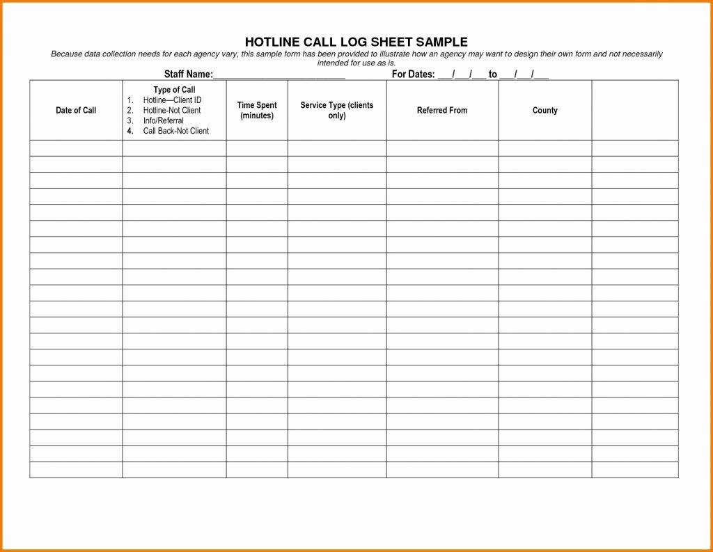 Sales Call Log Sheet Maggi Locustdesign Co Template for