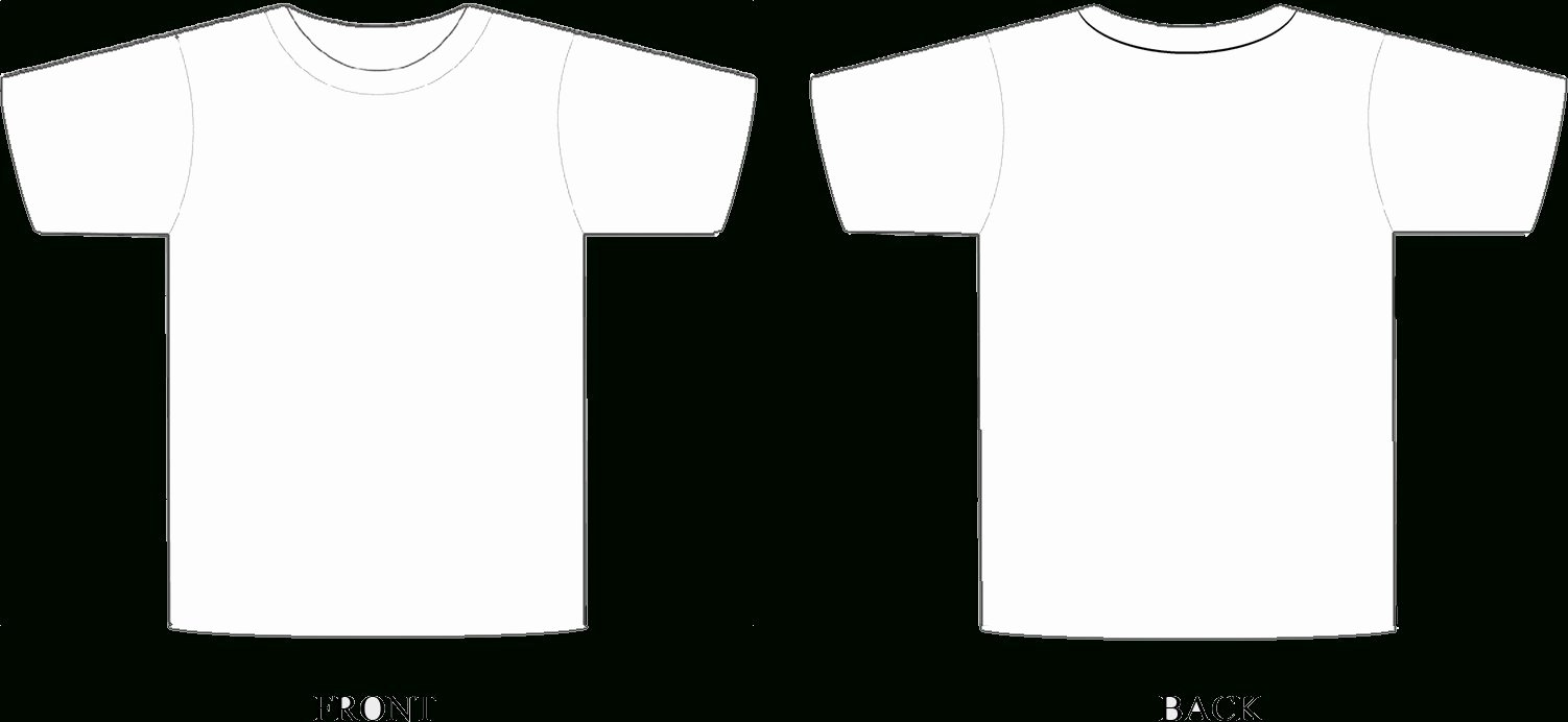 Shop T Shirt Template Gallery Template Design Ideas