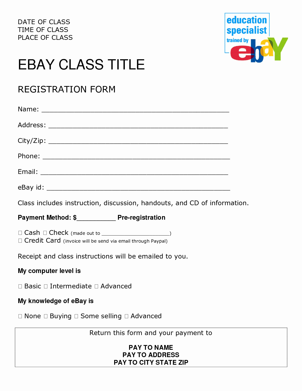 Sign Up form Template Word Portablegasgrillweber
