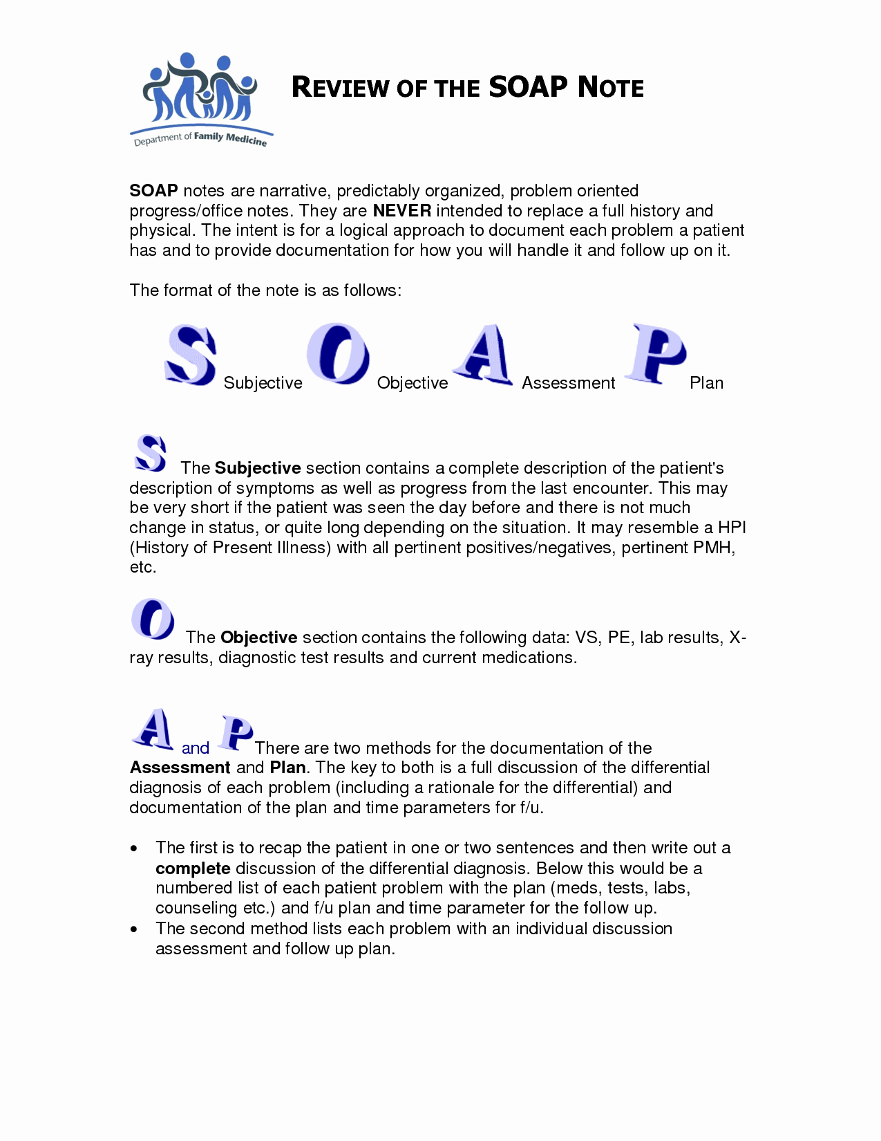 Soap Note Template Counseling Google Search