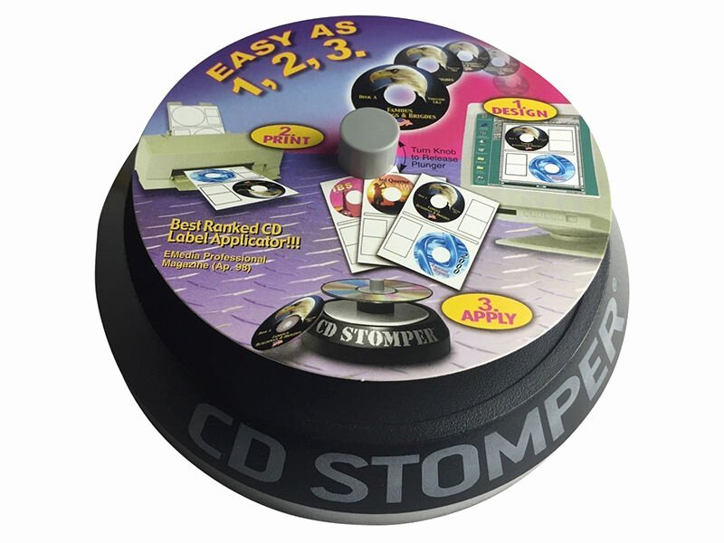 Stomper Cd and Dvd Labeling System Plete Kit 380 Labels