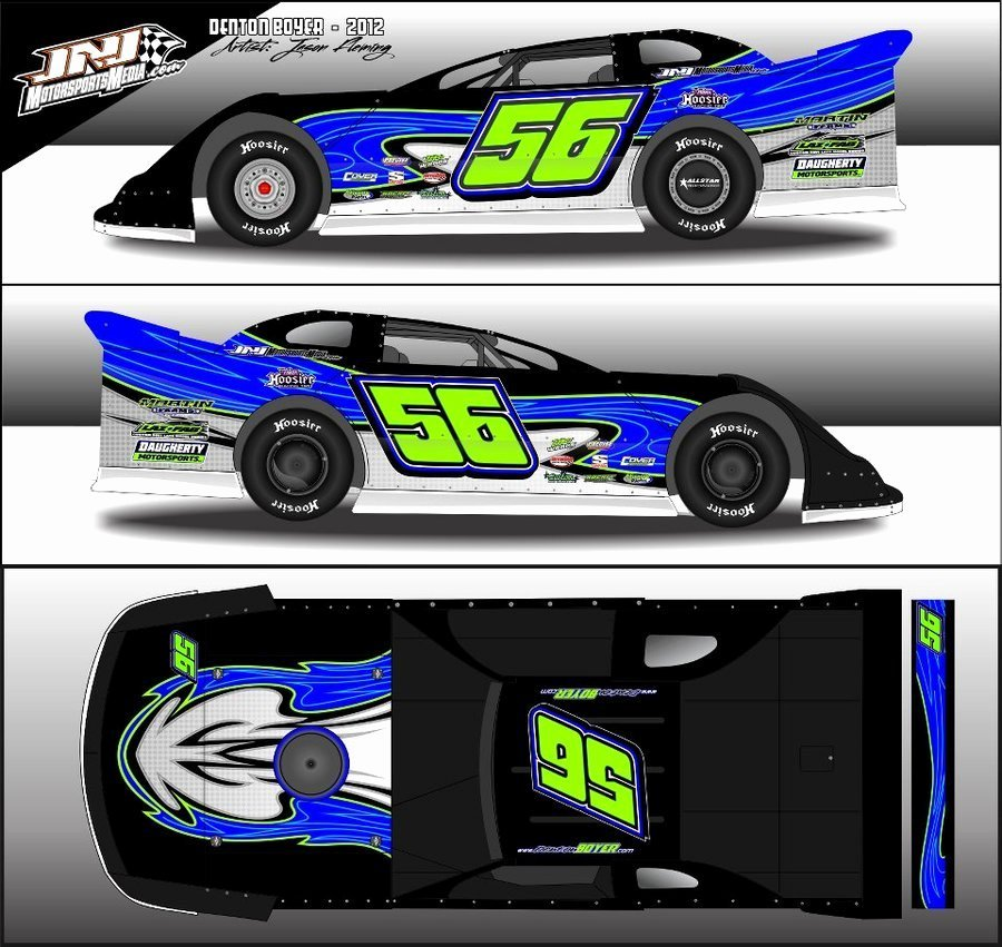 The Gallery for Race Car Wraps Templates