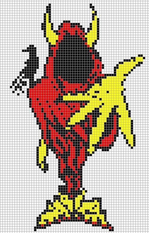 The Wraith Pixel Art Templates