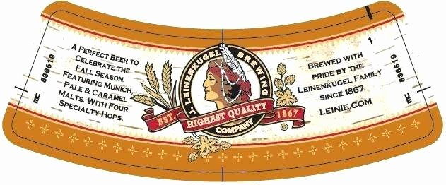 Vector Label for Apple Cider with Crown and Inscription In