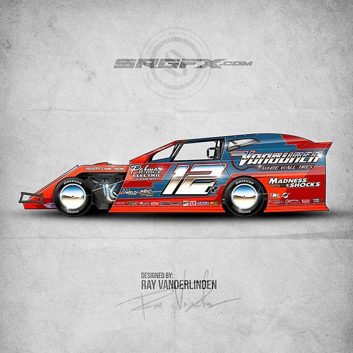 Vector Racing Graphics Starter Pack 4