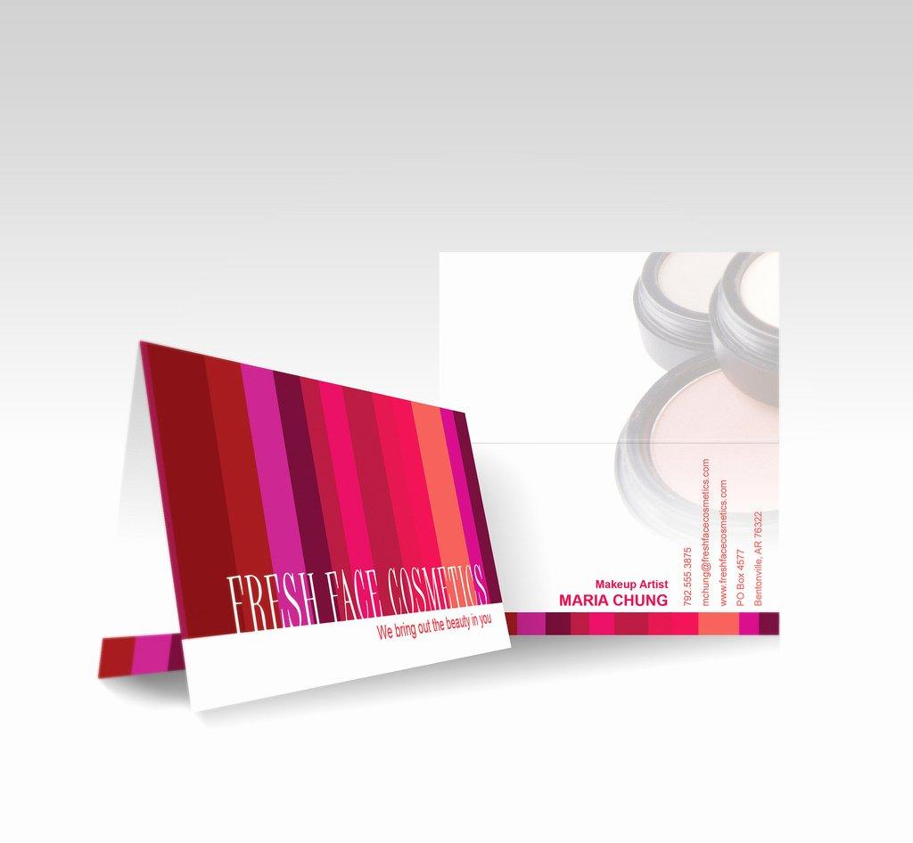 Vistaprint Folded Business Card Avon