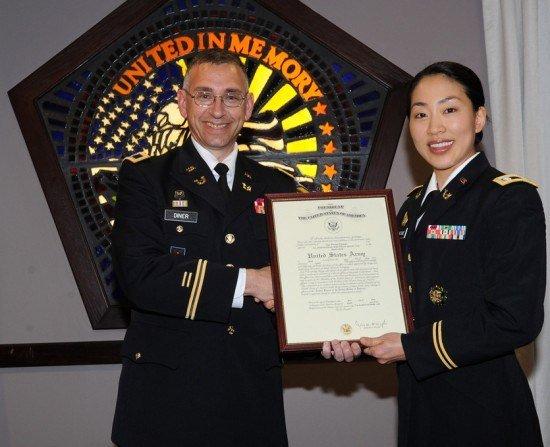 Warrant Ficer Promotion Certificate